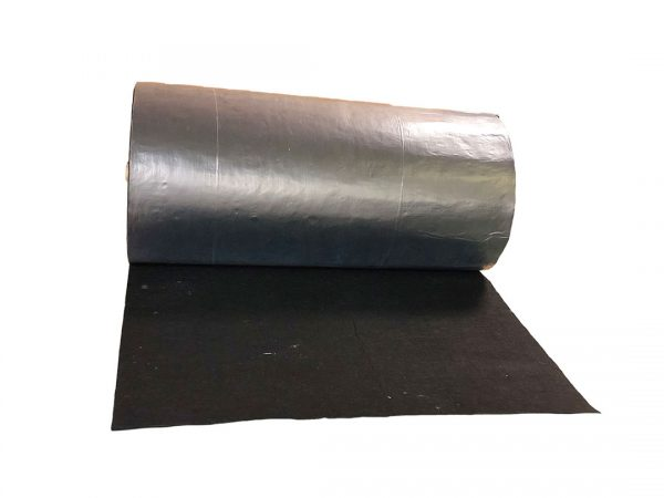 Spilltration Husky Railroad track mat for absorbing oils and fuels filter rain water - inner rail full roll copy