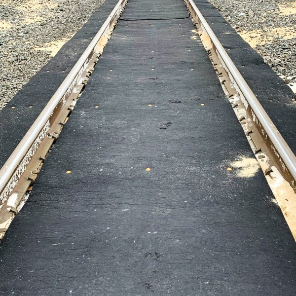 Railroad Track Oil Absorbent Mat Filters Rain Water Durable UV Resistant