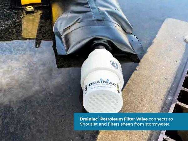 HardyBerm Portable Secondary Containment Drainiac System