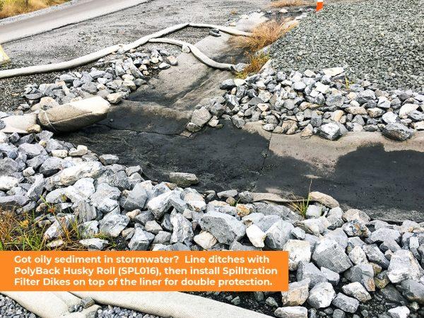Oil & Sediment Filter Dike