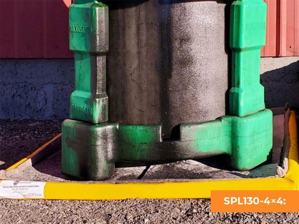 Spilltration® Super Husky Pan Oil Filter Containment